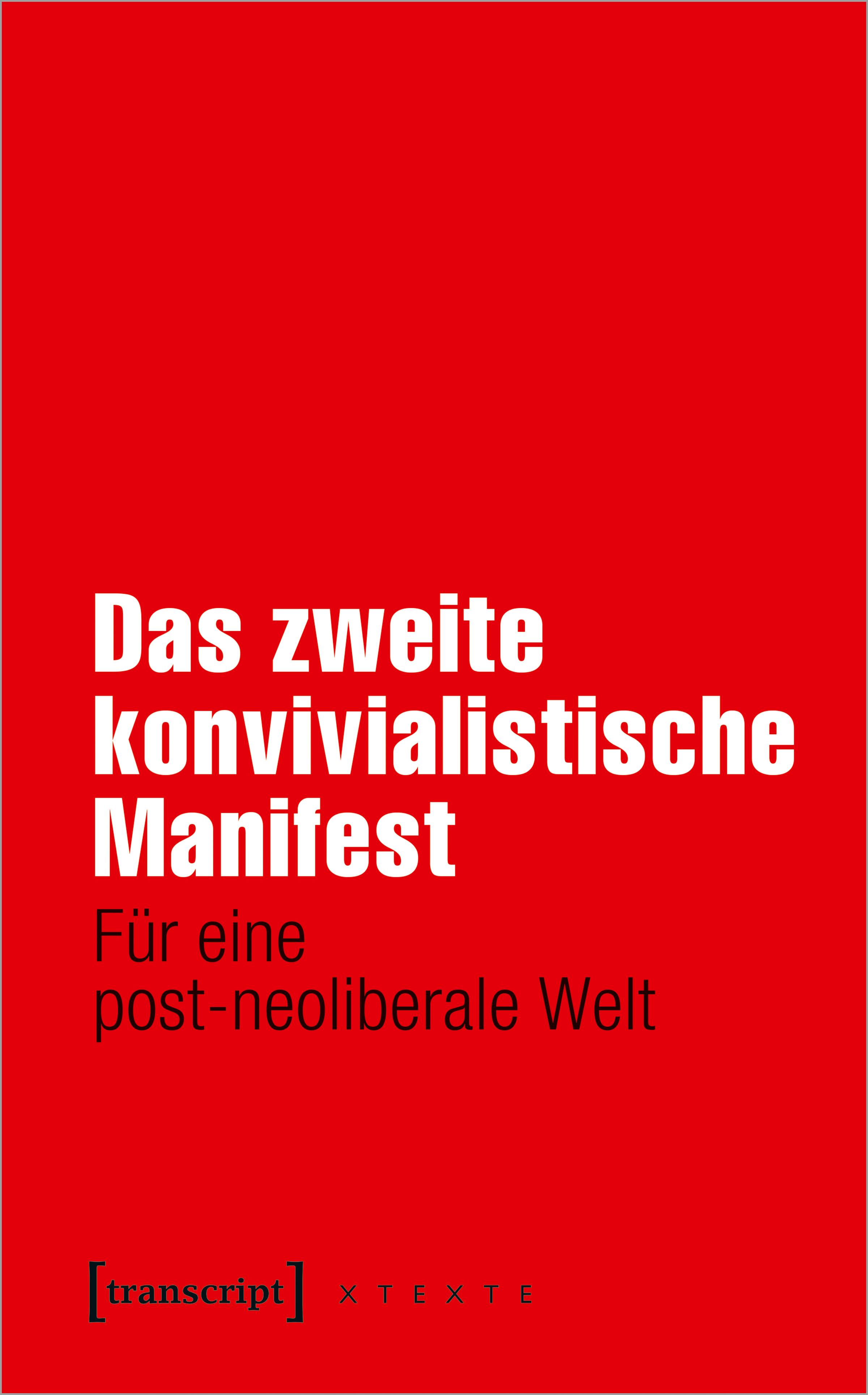 Cover Das zweite konvivialistische Manifest